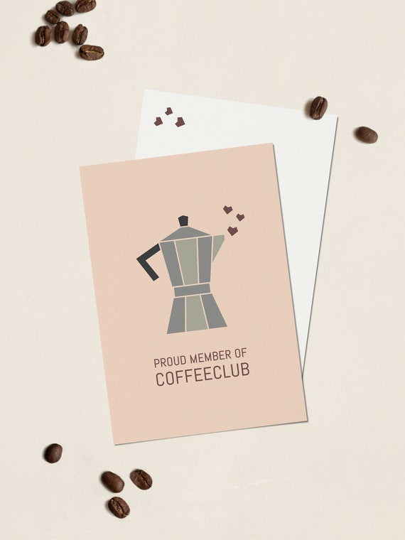 Postkarte COFFEECLUB