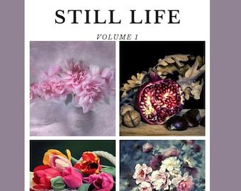 STILL LIFE: A digital grayscale coloring book pdf