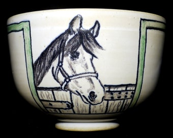Horse bowl in his Jade Collection box