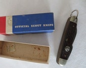 Vintage Ulster Boy Scout Knife in Original Box