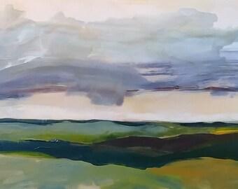 Acrylic & Oil Landscape