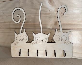 Cat Key Holder Etsy