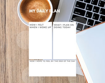 Daily Planner Template Print