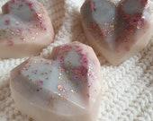 Black Opium Inspired Wax Melt Geo Heart