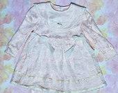 Kids vintage Jessica McClintock lace dress