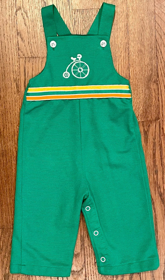 Kids vintage green Health-Tex jumper