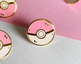 Mini Pastel Ball Hard Enamel Pin