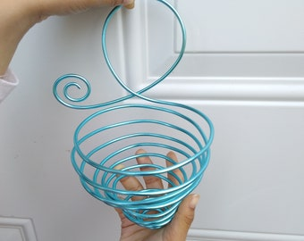 Large Wire Air Plant Hanger Basket For Wall