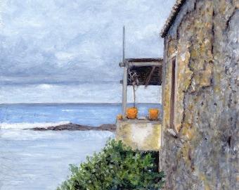Oil Painting: Tabakaria View, Chania, Crete