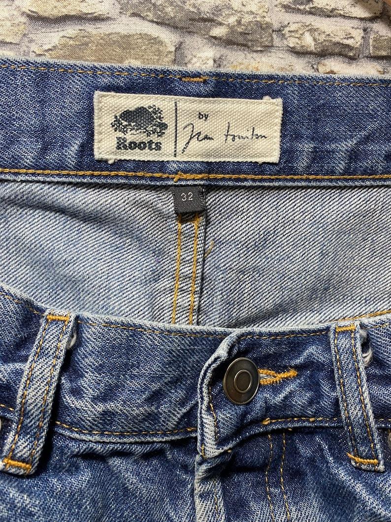Roots distressed denim vintage 32x32