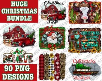Huge Christmas Design Bundle 90 PNG File, Christmas Bundle Png,Merry Christmas Png,Santa Png,Happy New Year Png,Xmas Png,Instant Download