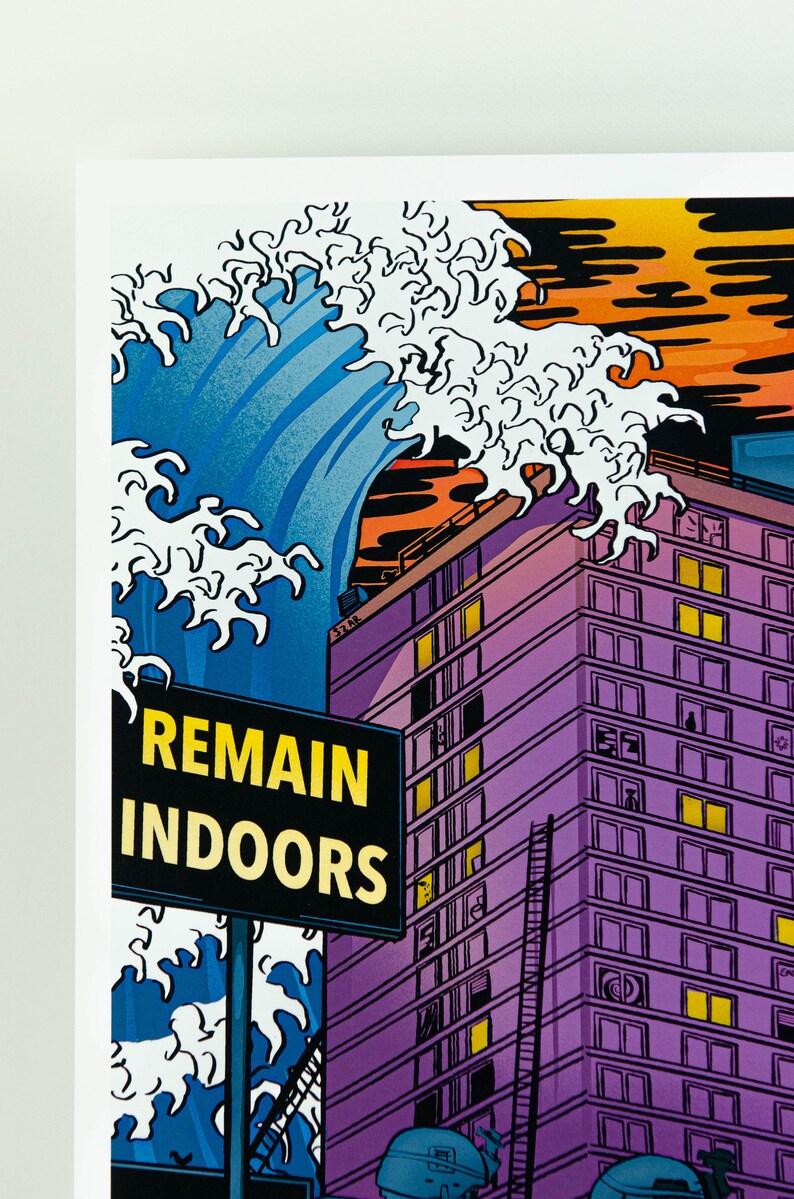 Belfast Remain Indoors Northern Ireland