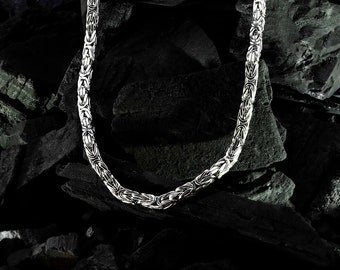 Royal Chain 925 Sterling Silver, 3.3 mm *Rhodium*