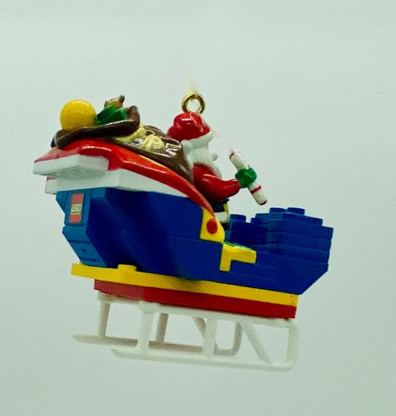 Hallmark Keepsake Ornament Santa/'s Lego Sleigh!!