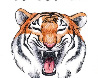 Tigers Helmet Stripe Kitchen Tea Towel