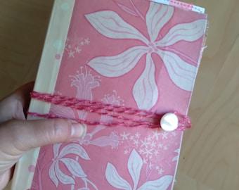 Handmade Junk Journal/Chunky Journal/Smash Book/Flowish Papers Journal/OOAK Handmade Book/Boho Journal/Original Art/Eco-Friendly Art/Upcycle