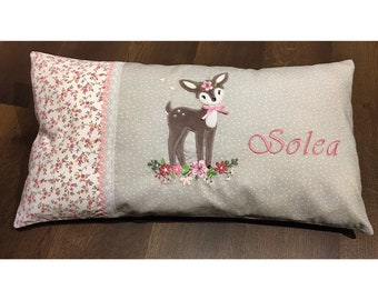 Rehlein- Cuddly pillow with name, baby, gift