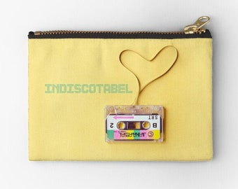 Customizable Clutch, Case, Cosmetic Case, Coin Case, Pen Case, High Quality | hatgirlBAGS Indiscotabel