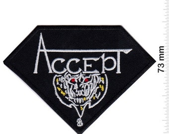 ACCEPT BLIND RAGE OFFICIAL LICENSED SEW ON PATCH HEAVY METAL BAND BADGE NEW