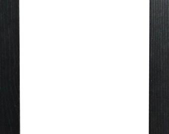 A1 A2 A3 A4 A5 A6 10X8 20X16 24X18 36X24 Picture Photo Frame | Hand Made Wood Frame | Custom Size Available| Black Oak White Silver Walnut