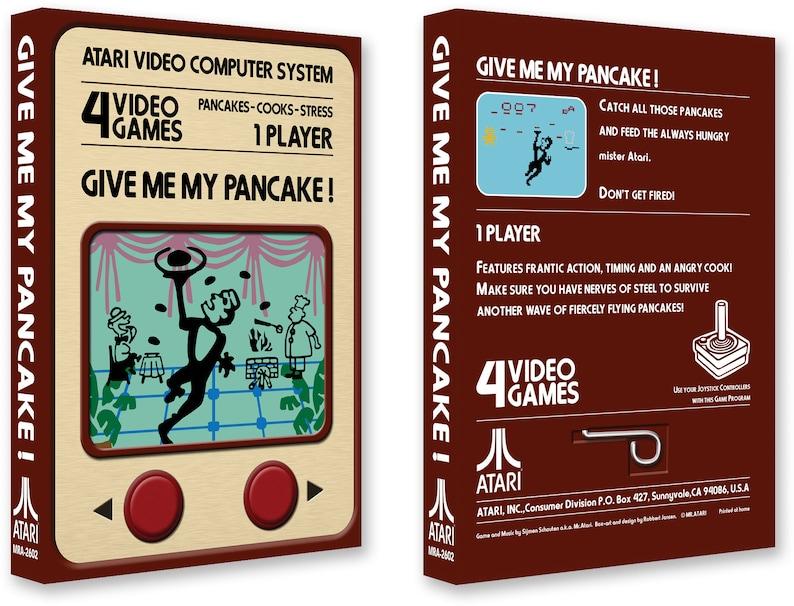 Give me my Pancake Box for the Atari 2600 Game image 1