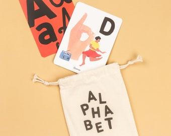 Alphabet Cards - Sign Language