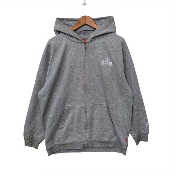 Dada Supreme Hoodie Zipped Vintage Sweatshirt Over