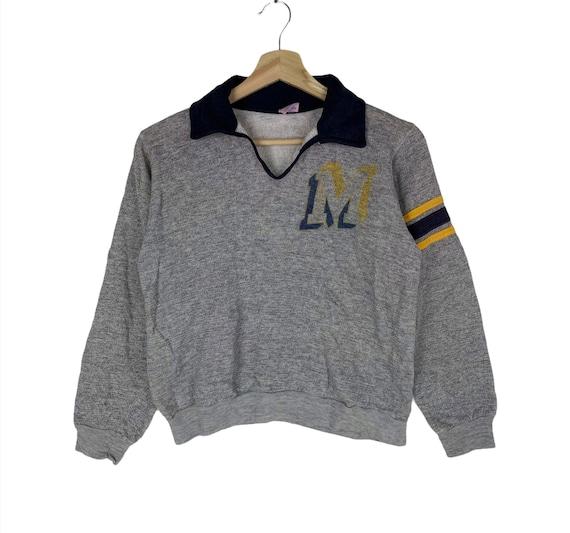 Vintage 70s Champion Pullover Jumper Sweatshirt Gr