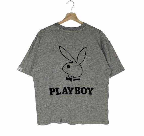 Vintage Playboy Big Logo Embroidered Tshirt Sweat