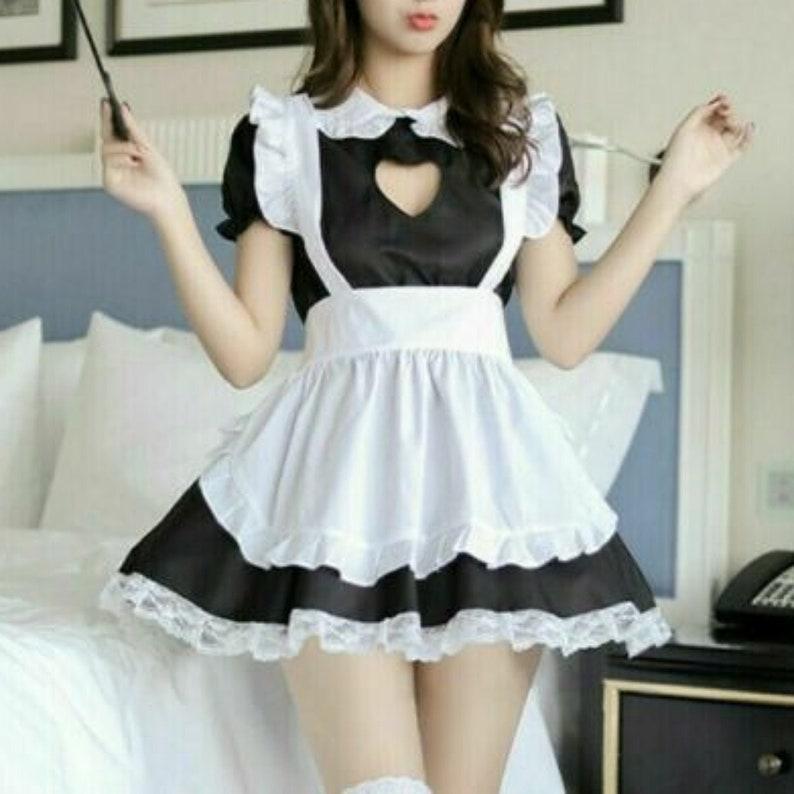 Sexy cosplay , Maid costume