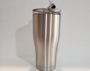 20 ounce regular or modern curve tumbler leak proof lid