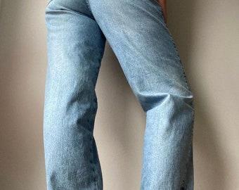 Vintage Armani Blue Jeans