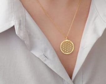 Flower of Life Chain with tassel