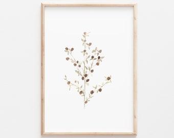 Botanical, Botanical Art, Botanical Wall Art, Botanical Print, Botanical Art Print, Watercolor, Watercolor Painting, Watercolor Print, Art