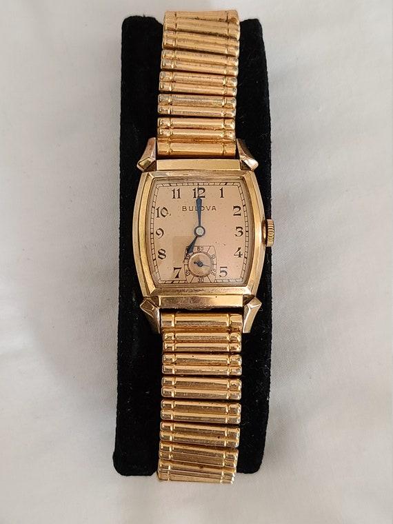 Vintage Bulova watch with box