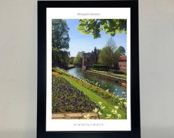 Westgate Gardens, Canterbury Photo Print / Canterbury Wall Art / Canterbury Photo Print / Kent photos/ UKC