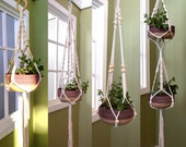 Macrame Plant Hanger, Hanging Planter Indoor Outdoor, Plant Lovers Gifts, Mothers Day Gift