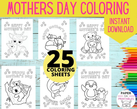 Mother's Day Coloring Pages :  Best Mom Coloring Pages