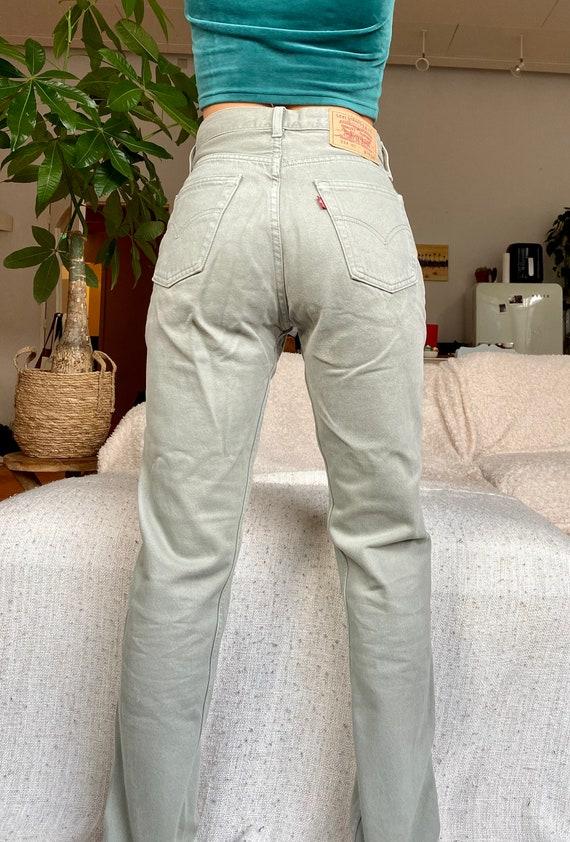 Vintage Levi's 534 29 waist 90s jeans high waist