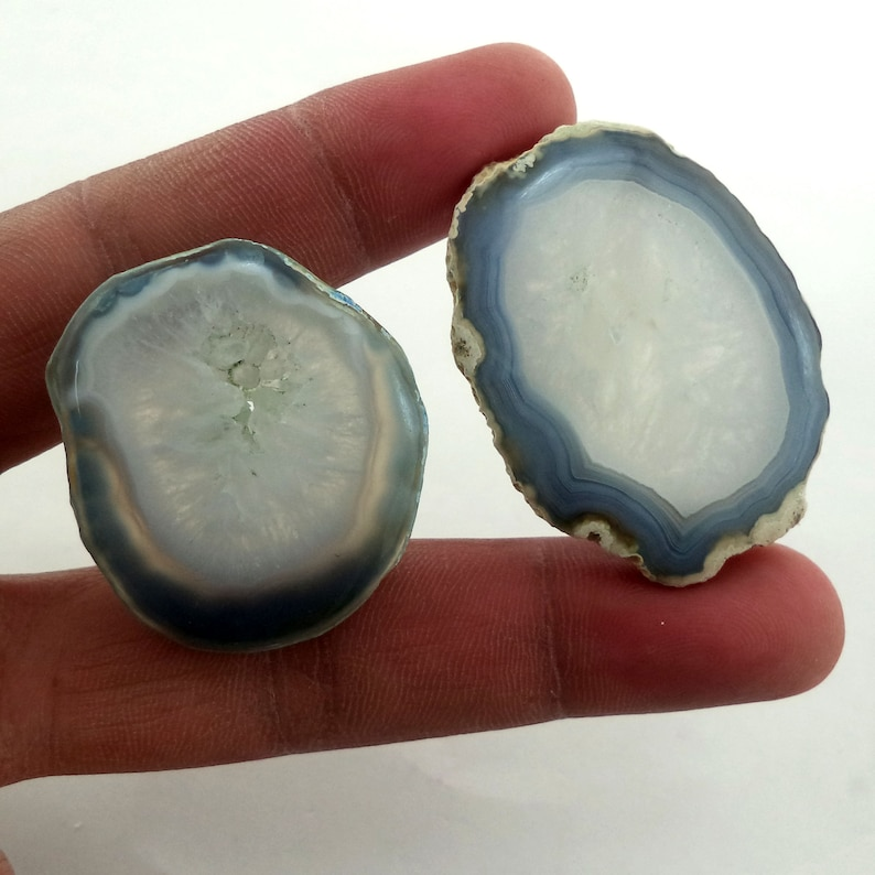 Natural  Druzy Polish Row Slice Crystal Minerals Oval Shape  Big Size 165 Carat Top Quality At Whole Sale Price