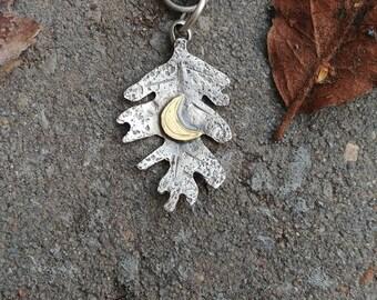 Handmade customizable oak wood talismans