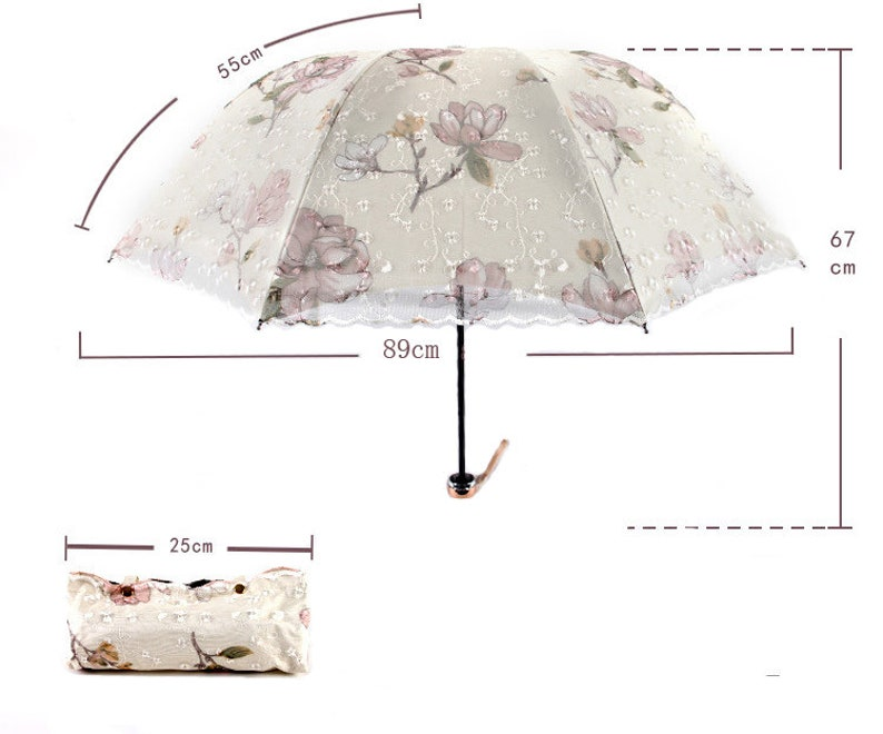 Bridal Shower Quinceniera Lace Umbrella Wedding Decoration,Three clours Lace Parasol Prom Coctail Paryn Wedding