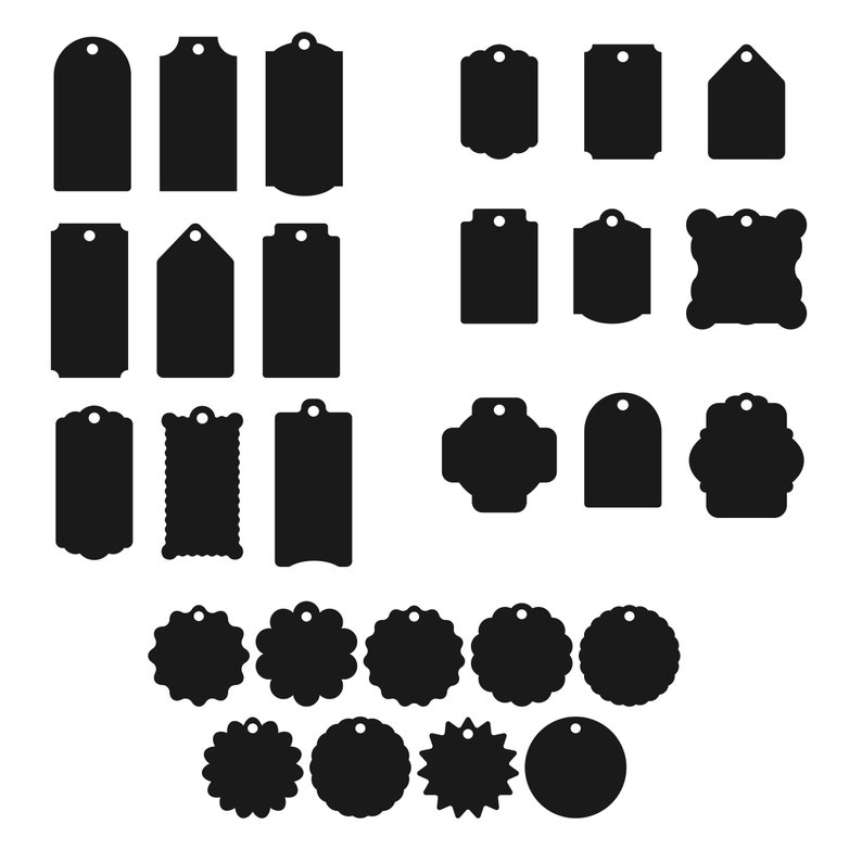 Tags svg Bundle Label SVG Price tags SVG Christmas tag svg Tags Silhouette and Gift tags svg Tags svg Cricut Tag SVG and Tag cut file