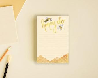 Honey Do Notepad Lined To Do List
