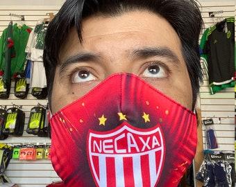 Rayos de Necaxa face mask handmade washable reusable mouth