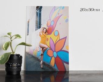 Ballerina - Framed prints, home decoration classical dance photo