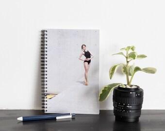 Ballerina - Spiral notebook, classical dance photo cover