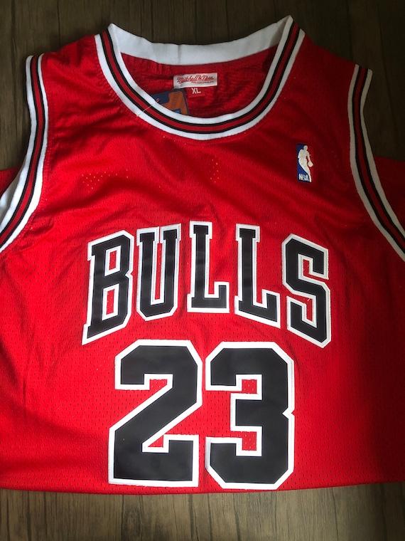 Retro Jordan 23 Chicago Bulls NBA Jersey