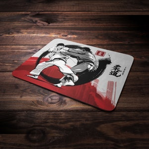 Jiu Jitsu Mouse Pad Budo Series #1