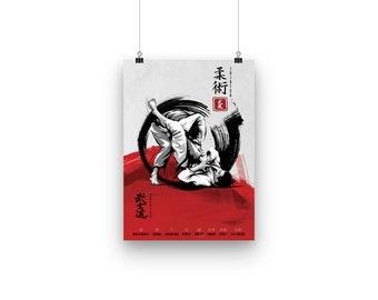 Jiu Jitsu Poster Series #1